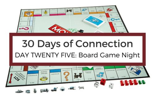 Day 25: Play a Board Game